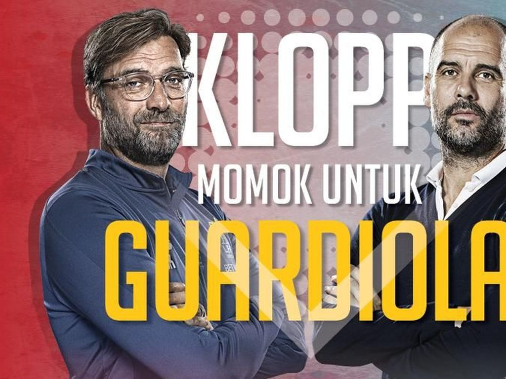 Klopp Paling Sering Mengalahkan Guardiola