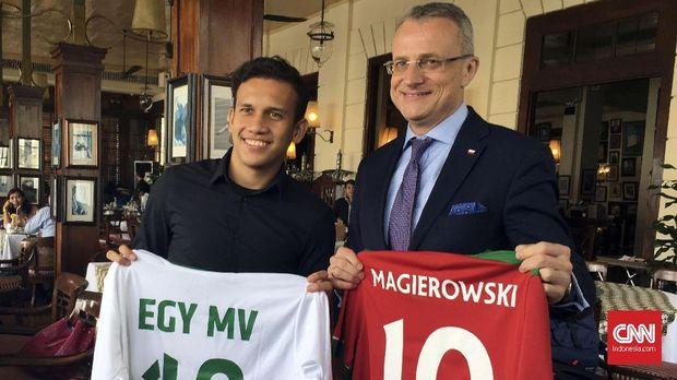 Egy Maulana Vikri pemain Indonesia pertama yang tampil di Liga Polandia.