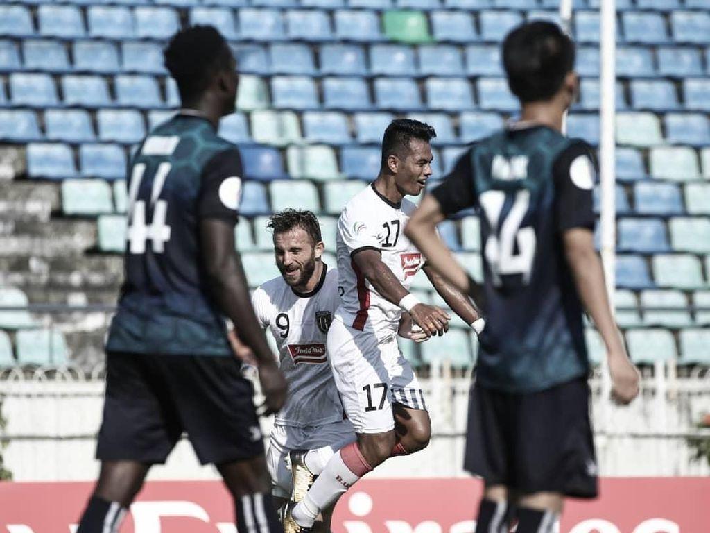 Buang Keunggulan Dua Gol, Bali United Dikalahkan Yangon United