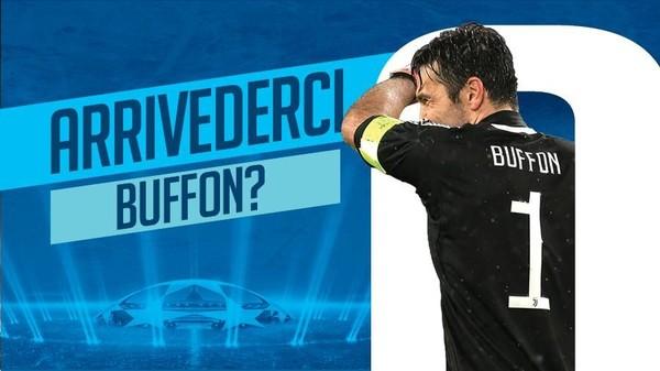 Buffon di Liga Champions: Tiga Final, 0 Trofi