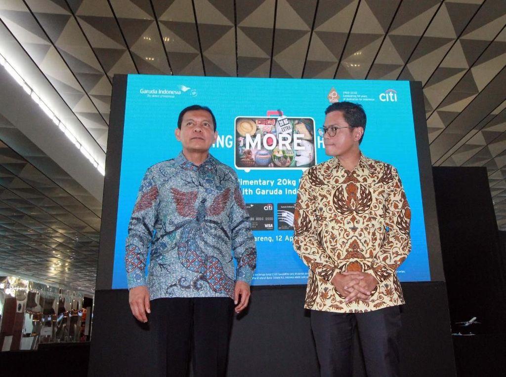 Manjakan Penumpang, Garuda Indonesia Gandeng Citi