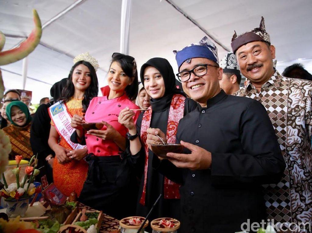 Farah Quinn & Serunya Event Wisata Festival Banyuwangi Kuliner