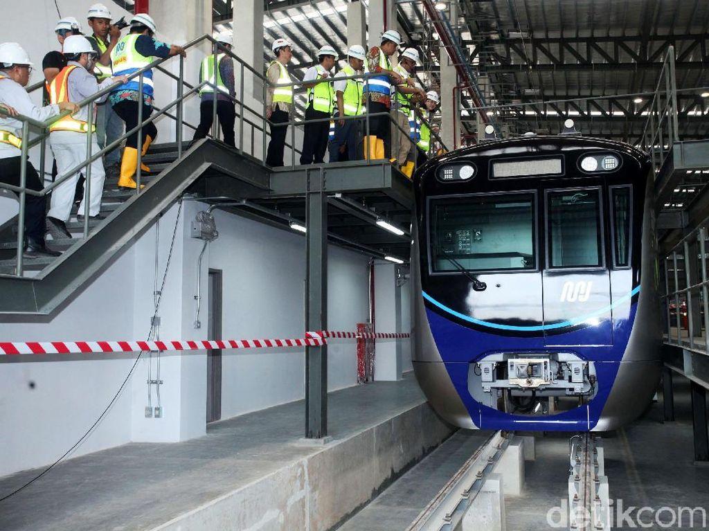 Beroperasi Maret 2019, Ini Pekerjaan MRT Jakarta yang Belum Kelar