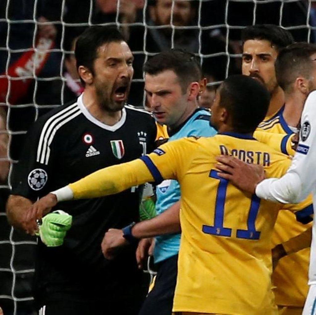Buffon Diskors Tiga Laga oleh UEFA