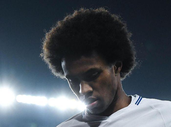 Willian berpendapat Piala FA tidak akan dapat menyelamatkan musim Chelsea. (Foto: David Ramos/Getty Images)