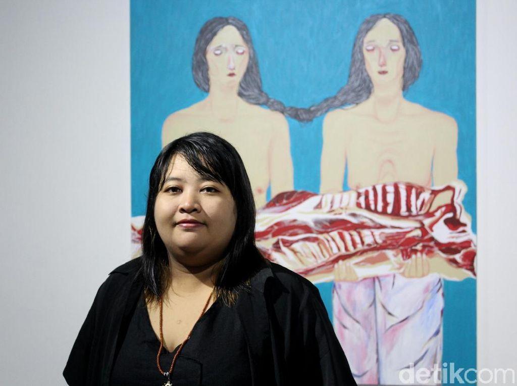 Citra Sasmita Hadirkan Figur Perempuan di Pameran Tunggalnya