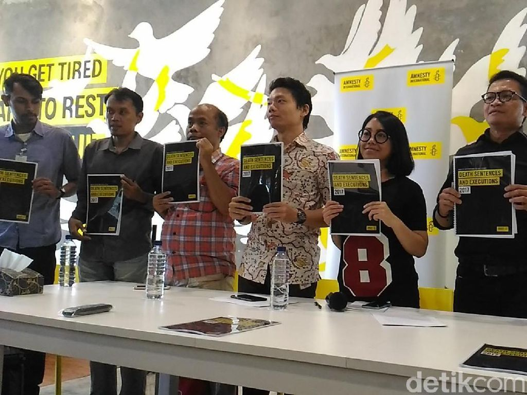 Hukuman Mati Dinilai Tak Kurangi Angka Kejahatan di Indonesia