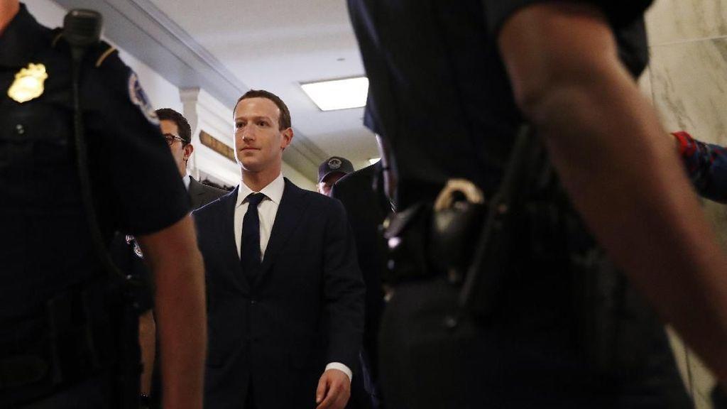 Saat Penyiksaan Terakhir Zuckerberg oleh DPR AS