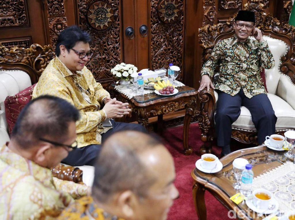 Ketum Golkar Temui Ketum PP Muhammadiyah