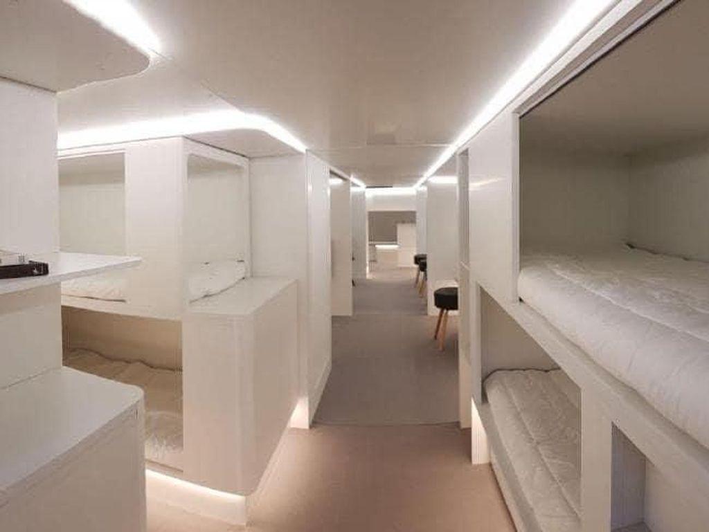 Wow! Bakal Ada Kamar Tidur di Dalam Kargo Pesawat