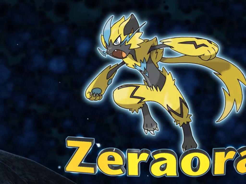 Ini Zeraora, Pokemon Legendaris yang Baru