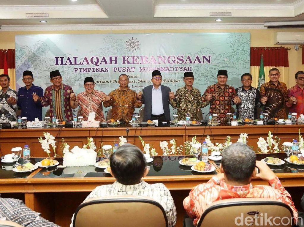 Petinggi Parpol Hadiri Halaqah Kebangsaan PP Muhammadiyah