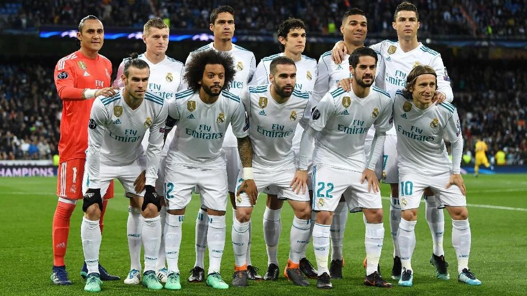 Rentetan Gol Jadi Salah Satu Modal Madrid di Markas Bayern