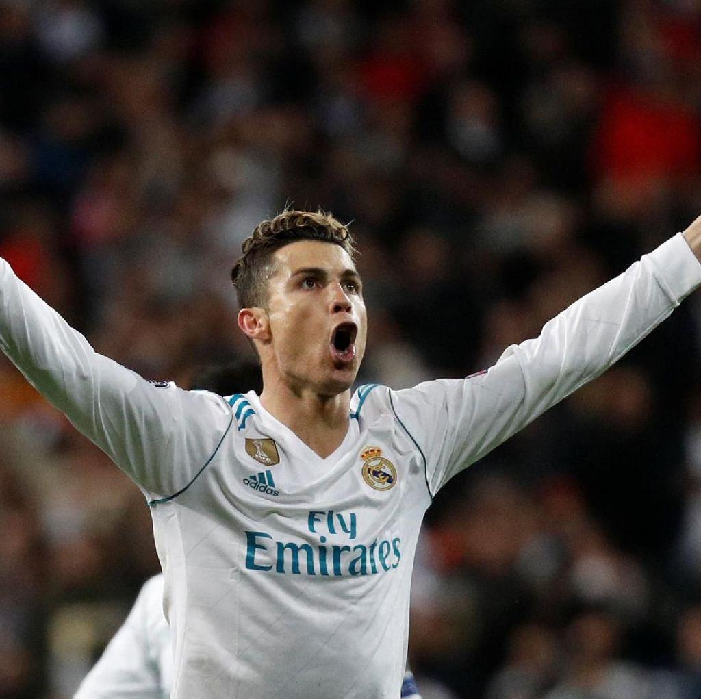 Ronaldo Tak Bisa Berhenti Bikin Gol