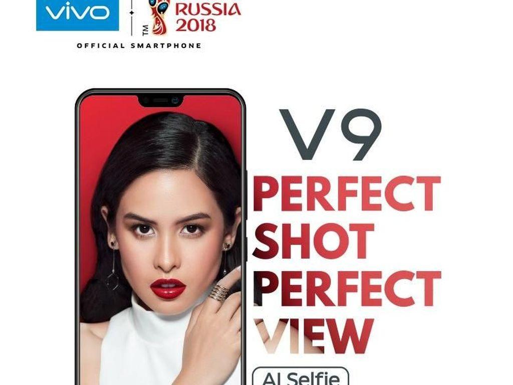 Vivo V9 Tawarkan Layar FHD+ Futuristik, Harga di Bawah Rp 4 Juta