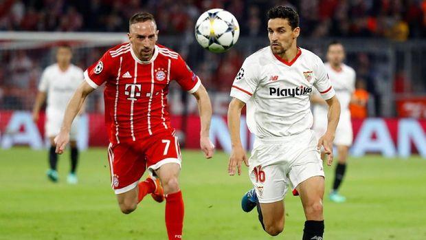 Bayern Munchen unggul agregat 2-1 atas Sevilla.