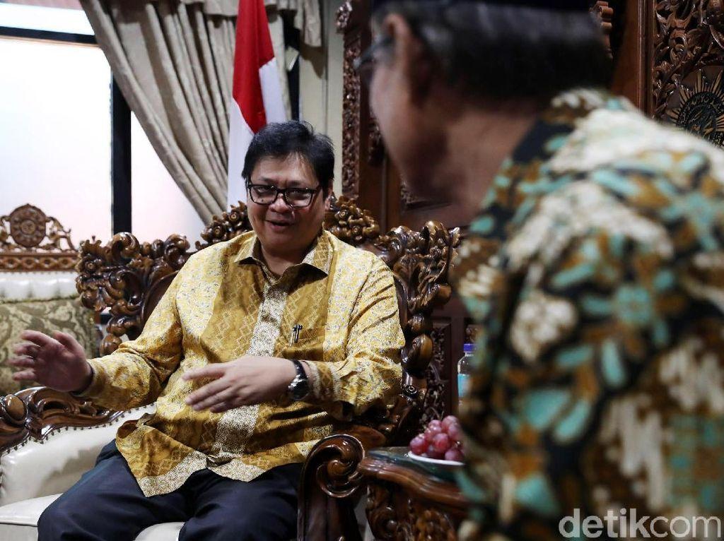 Diusulkan Jadi Cawapres Jokowi, Airlangga: Ada Waktunya Nanti