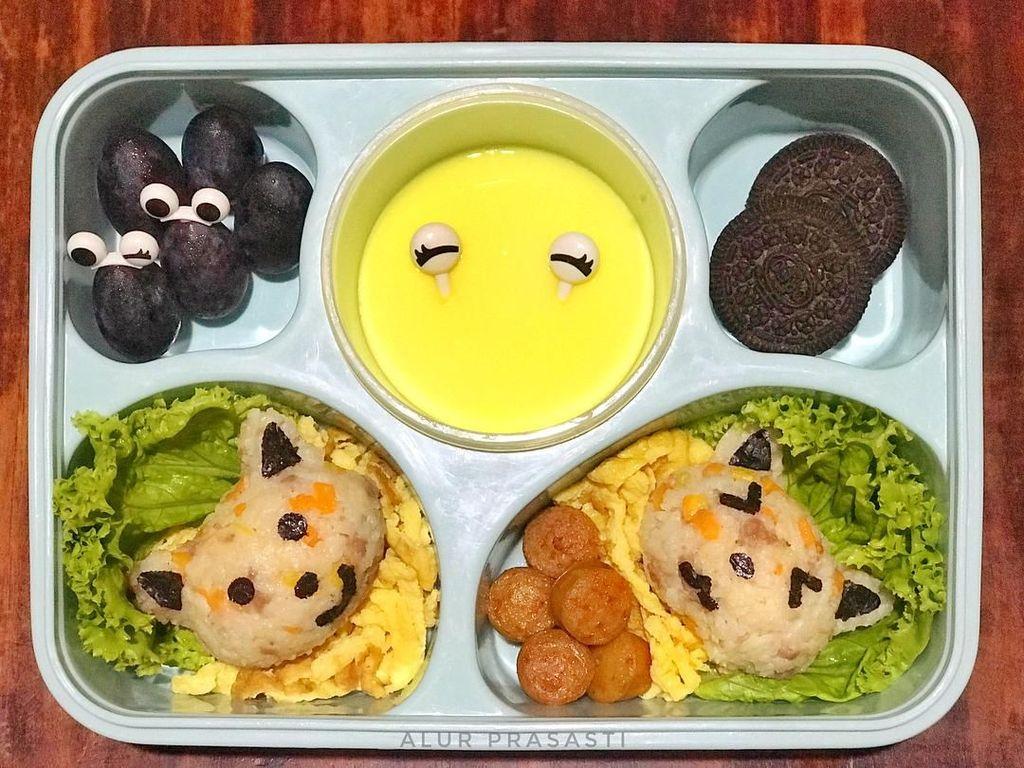 Hari Bawa Bekal Nasional, Intip 10 Bekal Makan Siang Milik Netizen