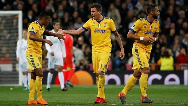 Mandzukic Dua Gol, Juventus Sementara Ungguli Madrid 2-0