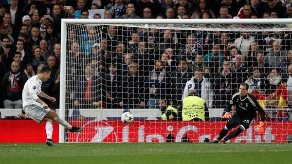 Dramatis! Penalti Ronaldo di Injury Time Loloskan Madrid ke Semifinal