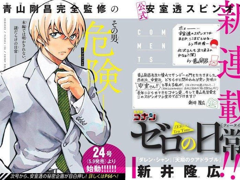 Spin-off Detective Conan Fokus pada Karakter Tooru Amuro