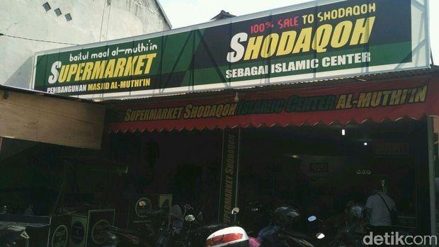 Super Market Shodaqah Islamic Center al-Muthi'in.