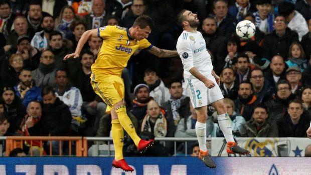 Juventus sempat membuat Sergio Ramos tegang di kursi penonton.