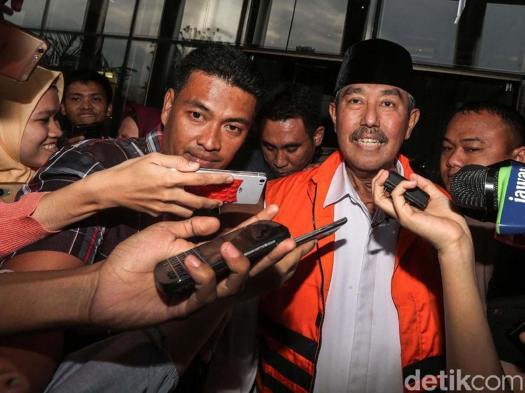 Jaksa Tuntut Cabut Hak Politik Mantan Bupati KBB Abubakar