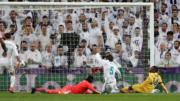 Juventus memberikan perlawanan sengit pada Real Madrid.