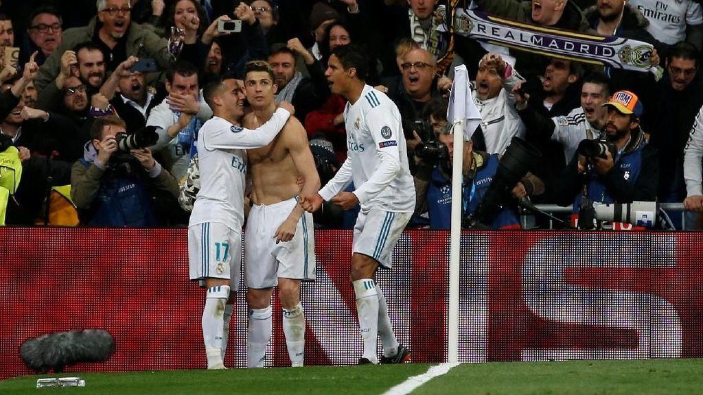 Sukses Madrid di Liga Champions Bukan karena Uang