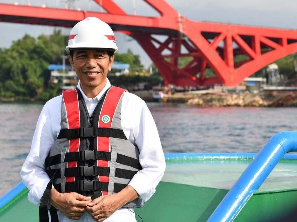 5 Infrastruktur Bergengsi yang Diresmikan Jokowi Sebelum Pilpres