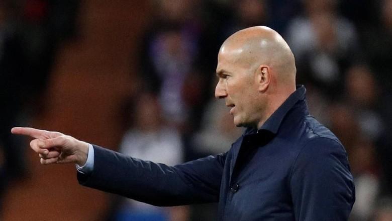 Zidane Senang dengan Performa Tim Pelapis Madrid