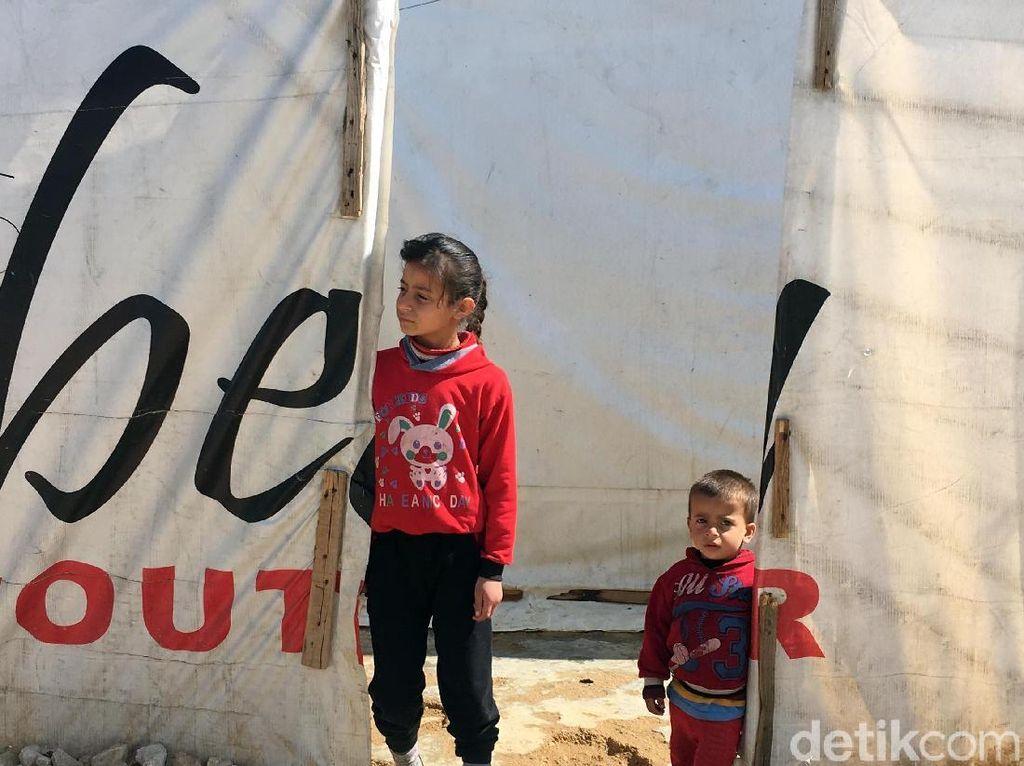 Melihat Tempat Berlindung Korban Konflik Suriah di Lebanon