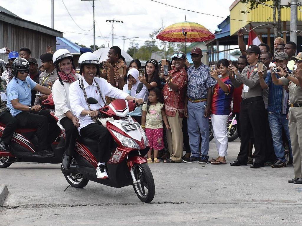 Motor Listrik yang Dipakai Jokowi Hanya Dijual di Papua
