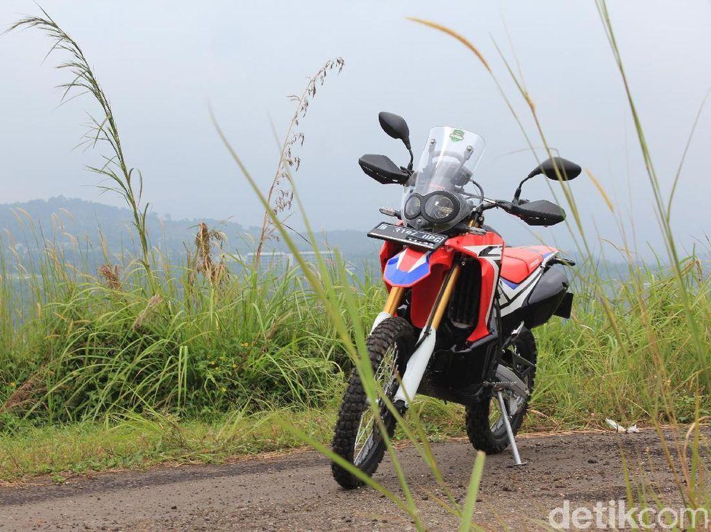 Honda CRF250RALLY di Indonesia Aman dari Recall