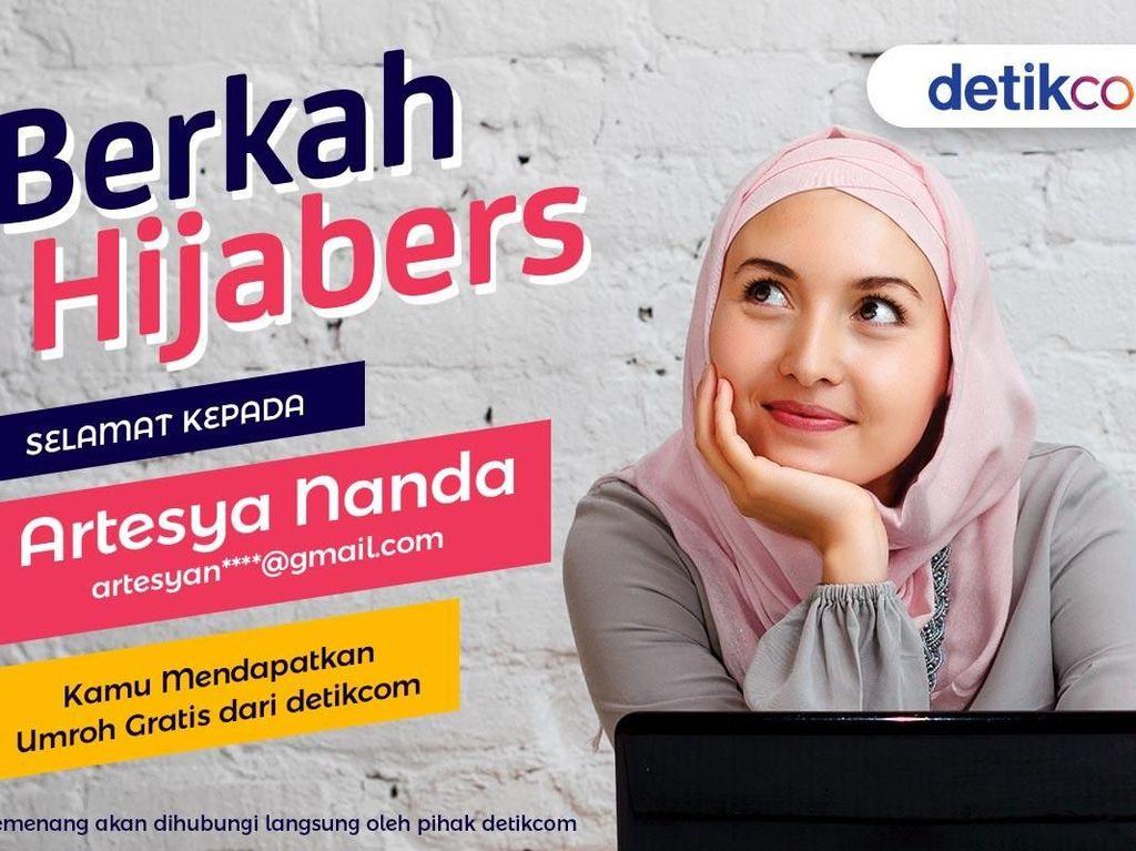 Selamat! Ini Hijabers yang Dapat Hadiah Umroh Gratis Dari detikcom