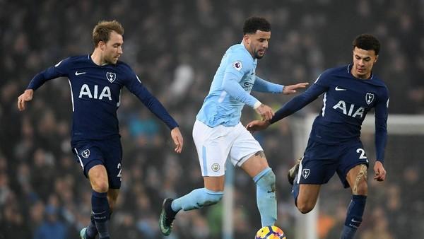Duel Panas di Wembley: Tottenham vs Manchester City