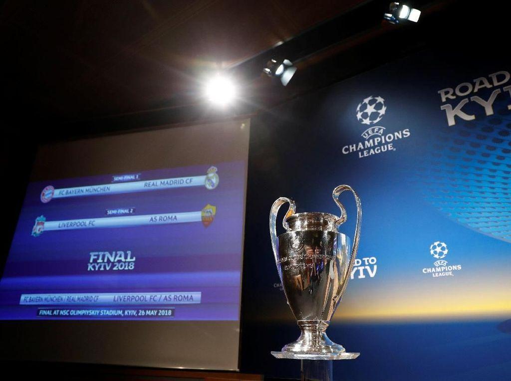 Foto: Pengundian Semifinal Liga Champions