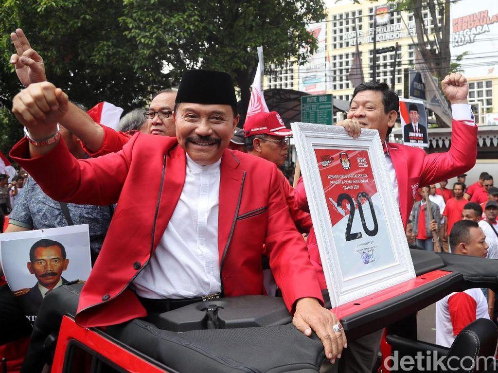 Hendropriyono Pamit, Ini Sepak Terjang Sang Jenderal PKPI