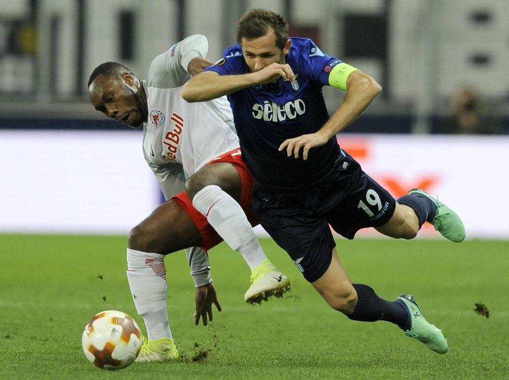 Comeback, Salzburg Singkirkan Lazio