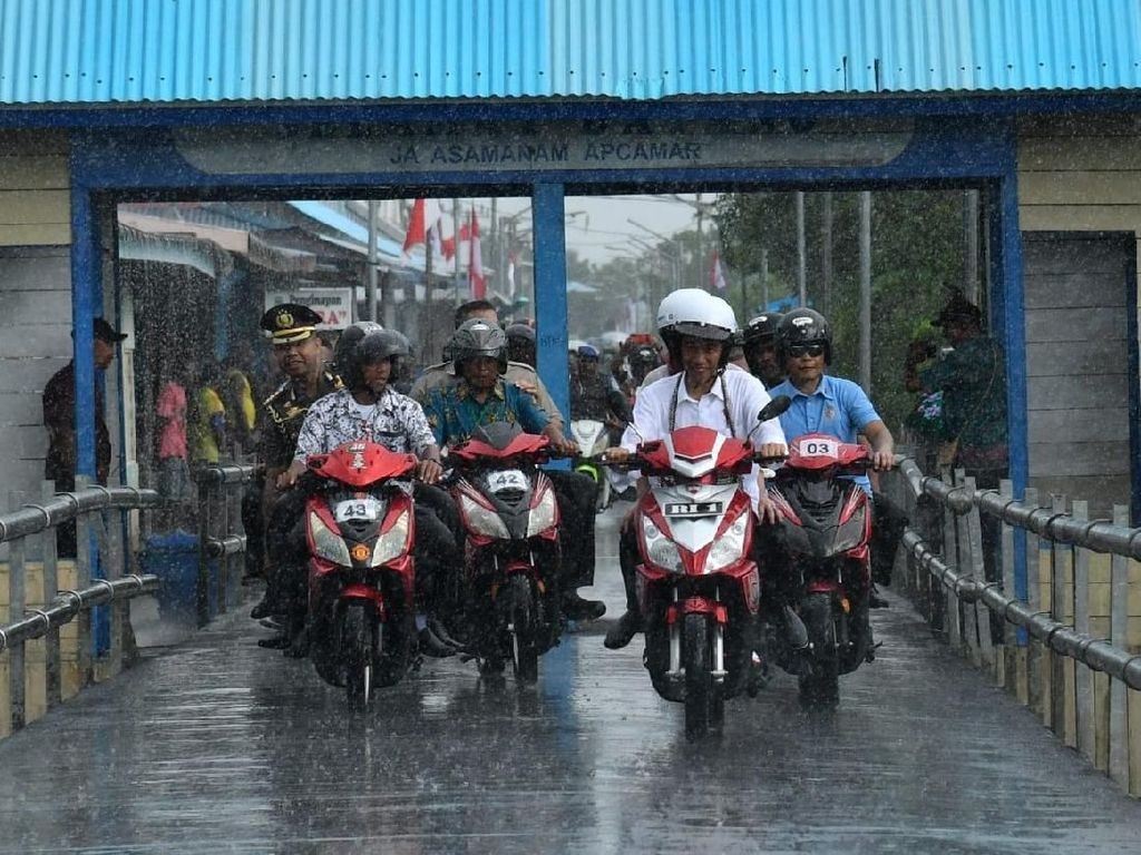 Harga Motor Listrik yang Dipakai Jokowi Sampai Belasan Juta