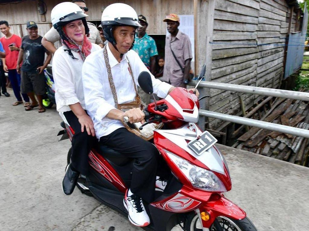 Motor Trail Sampai Motor Listrik Ini Jadi Tunggangan Jokowi