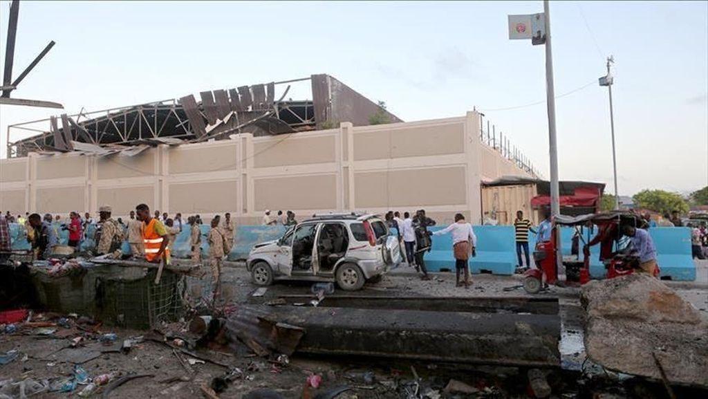 Ledakan di Stadion Bola Somalia, 5 Orang Tewas