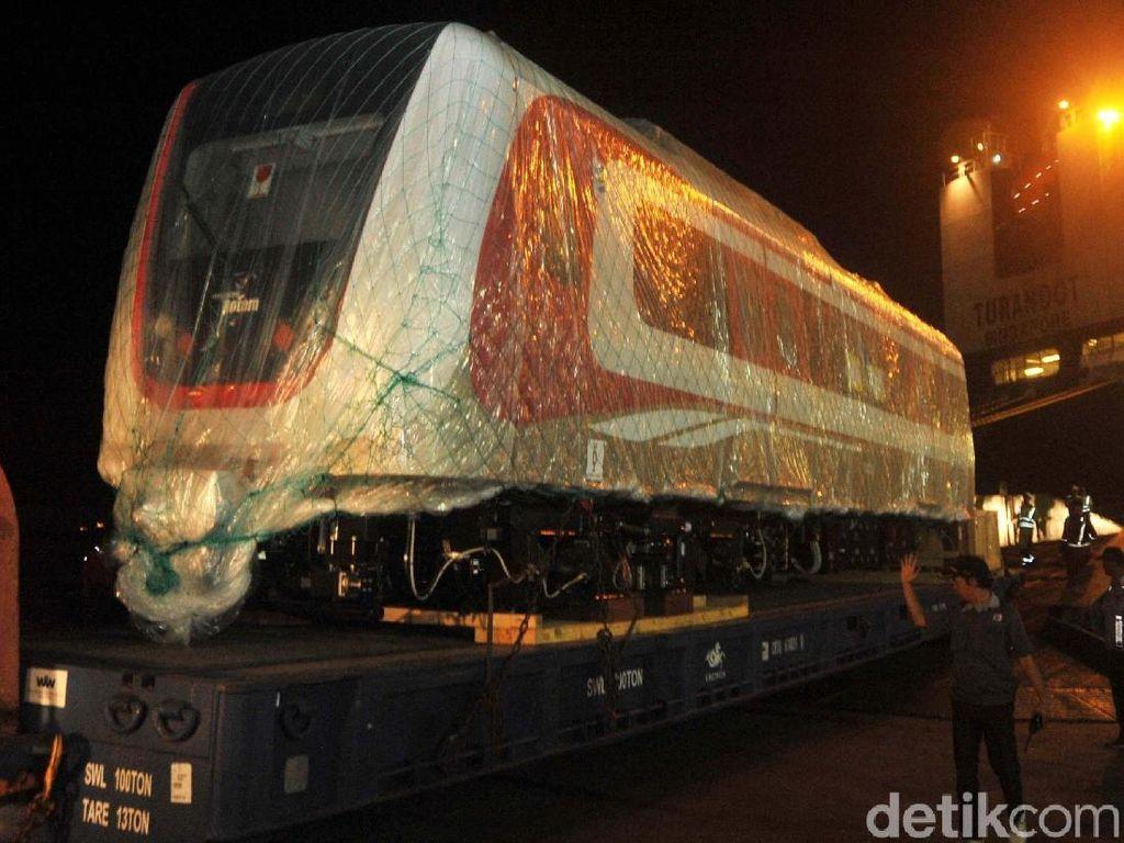 LRT Jakarta Dipakai Asian Games Kian Jadi Kenyataan