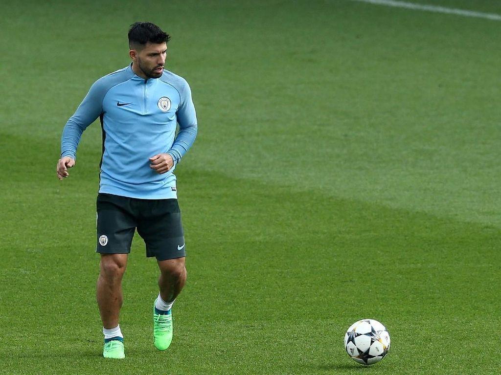 Aguero Sudah Hampir Tiga Tahun Absen Bikin Gol ke Gawang Tottenham