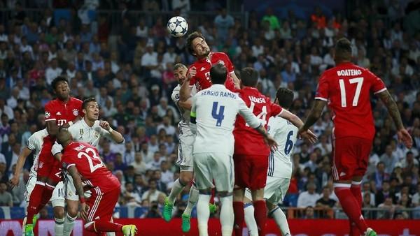 Head to Head Bayern Munich Vs Real Madrid Masih Imbang