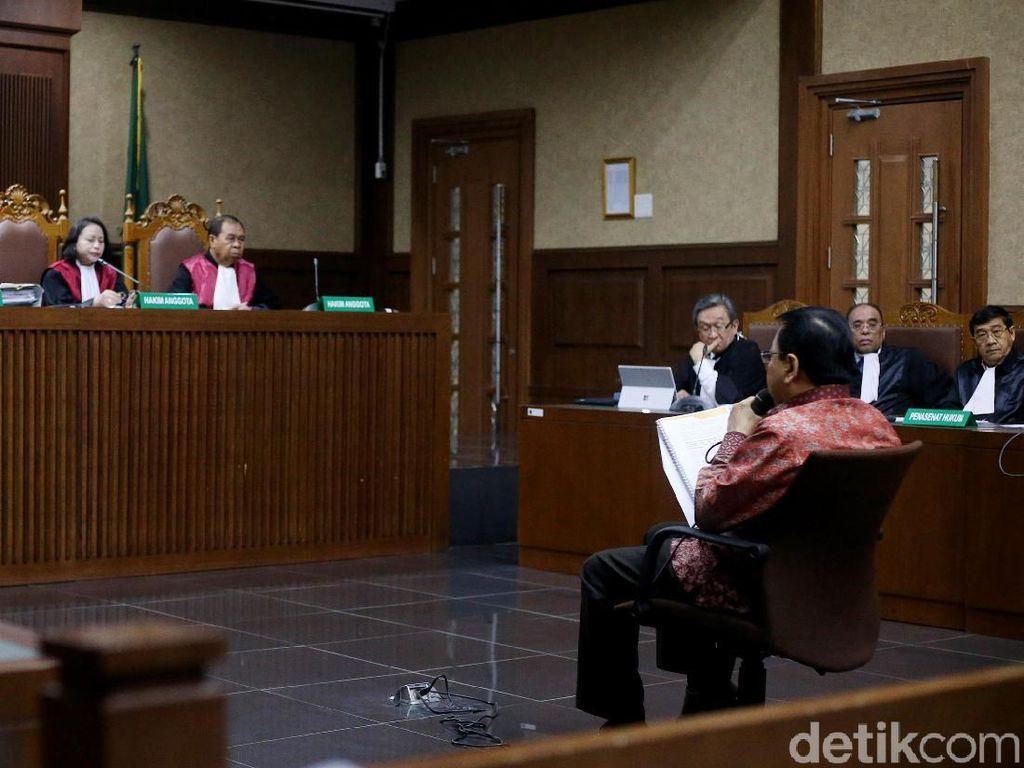 Jaksa Harap Vonis Hakim Sesuai Tuntutan, Novanto Pasrah