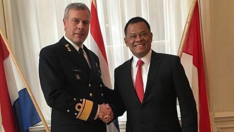 Gatot Nurmantyo Temui Panglima Angkatan Bersenjata Belanda