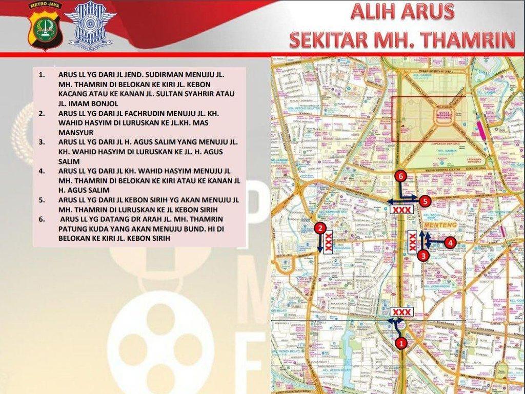 Ada Syuting di Sarinah, Jl MH Thamrin Ditutup
