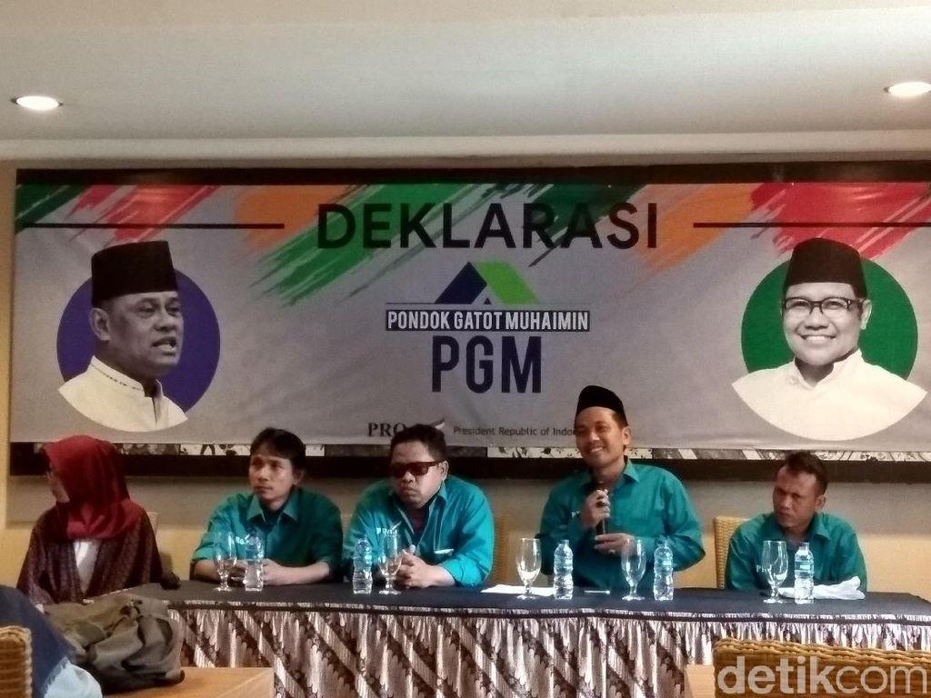 Relawan Pro 1 Deklarasi Dukung Gatot-Cak Imin di Pilpres 2019